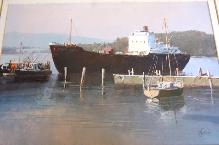 Fay Joseph (1939- ), 'Beauty Point, Tasmania',
