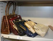 Qty of handbags to incl. Oroton, Glomesh, etc