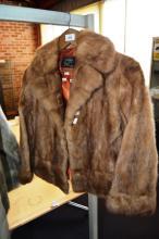 Berkeley fur jacket, satin lined