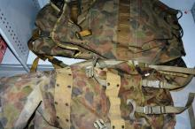 2 x ex-Australian army backpacks