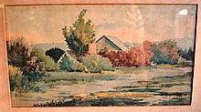 Walter Henry Bone (1863-1934), watercolour,