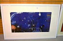 Brett Whiteley, offset lithograph, 'The balcony 2'