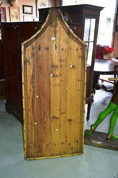 Large antique French rustic pine cheesemakers