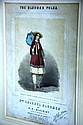Antique hand coloured engraving 'The Bloomer