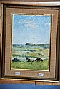 Fiona Heysen oil on board, 'The Picnickers' signed