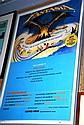 Framed Walt Disney poster, 'Fantasia' 95x64cm.