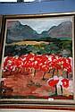 Joy Beardmore, oil on canvas 'Almonds', signed