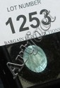 Unset oval faceted aquamarine 6.5cts
