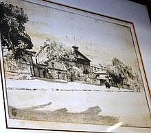 Alfred Edward (Ernest) Warner, etching, 'St Johns