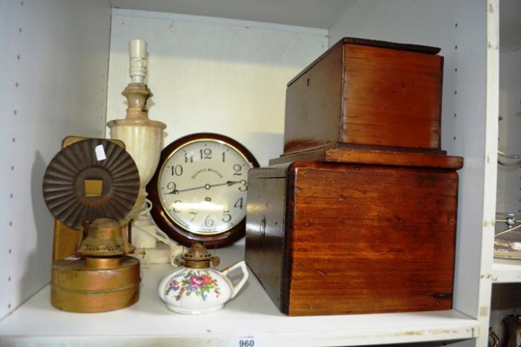 Wall Mounted Hurricane Lamps : Railway station clock, wall mounted hurricane lantern, marbl