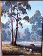 Pat Murphy, 'Windsor Way', oil on board, signed, 40 x 29cm