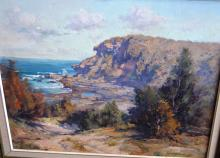 Robert Simpson, 'Point Nor'Easter', oil on board, signed, 44 x 54cm