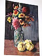 Bauer Karoly, watercolour, still life, with
