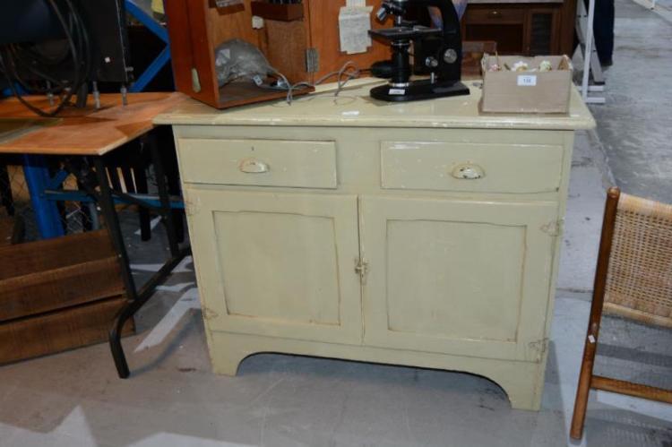Kitchen Cabinet Auction Painted
