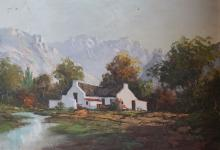 Jean-Louis Faure, 'South African homestead',