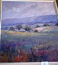 Kenneth Knight oil on board 'Softness of afternoon