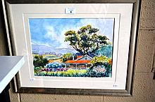 Henry Harrison watercolour 'Sammy's home', signed