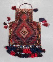 Persian pure wool, hand made salt bag
