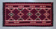 Afghan Maymana pure wool, hand made kilim,