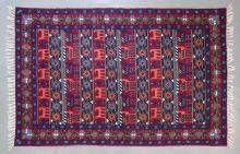 Kashmiri hand knotted silk tapestry