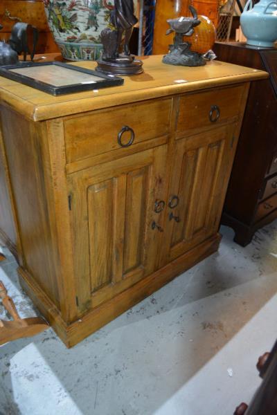 Queensland maple 2 drawer 2 door cabinet for Japanese furniture brisbane