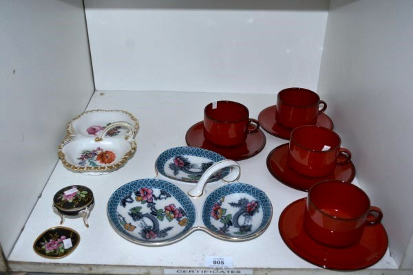 Shelf lot to incl 4 villeroy and boch granada for Villeroy boch granada