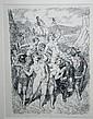 Norman Lindsay framed print 25 x 20cm