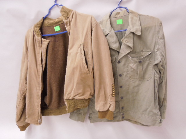 US Military Shirt & Wool Lined Jacket