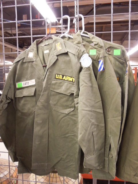3 US Army Shirts w/Patches