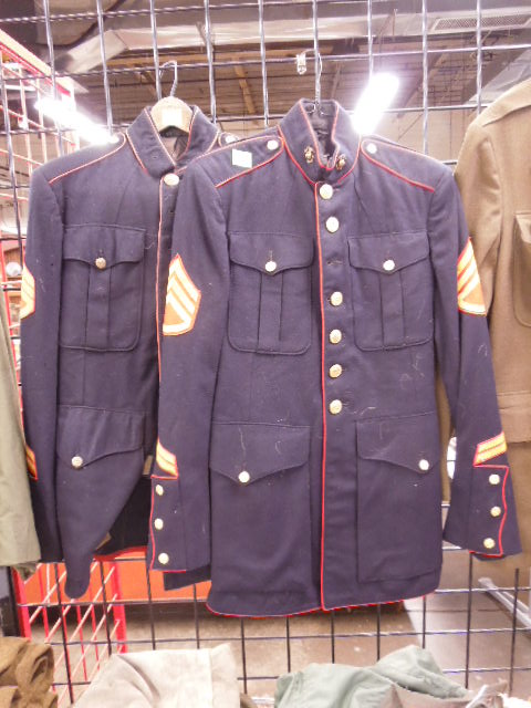 2 US Marine Dress Uniforms