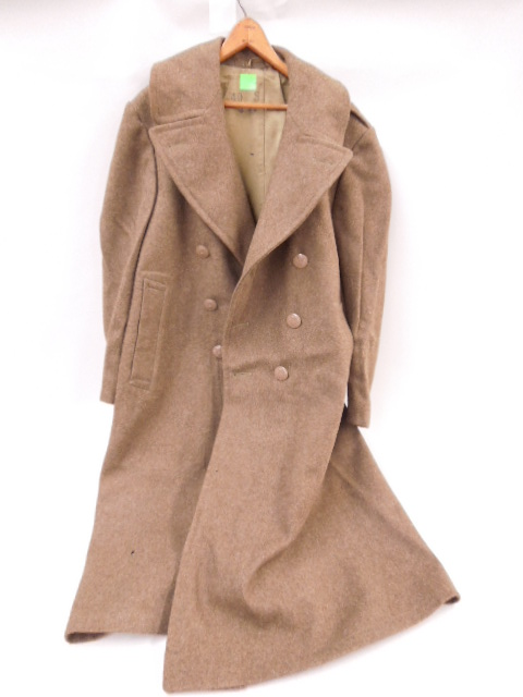 WW II U.S. Army Wool Long Coat