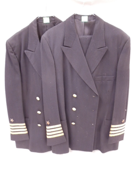 2 U S Naval Captain's Uniforms