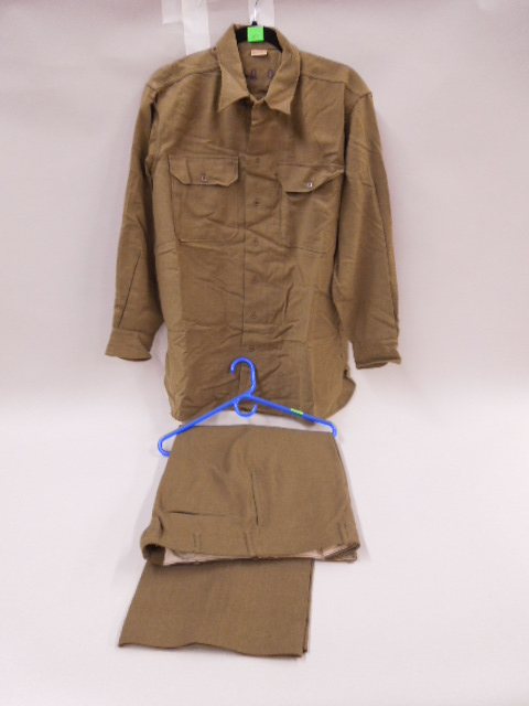 WW II U.S. Military Shirt & Pants