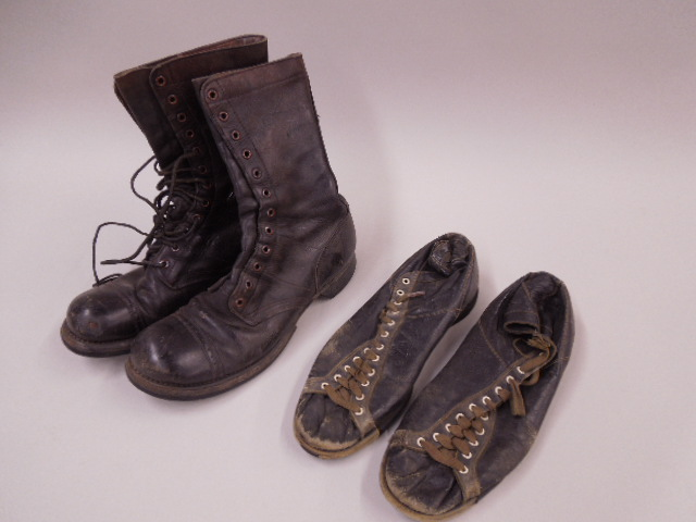 Vintage US Military Boots & Athletic Shoes