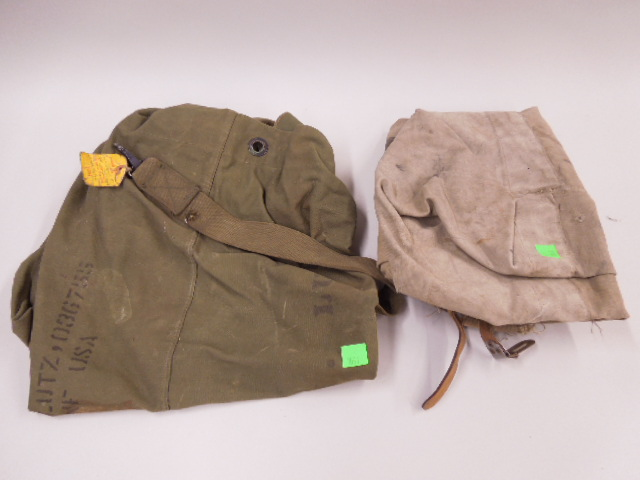 2 US Military Duffel Bags