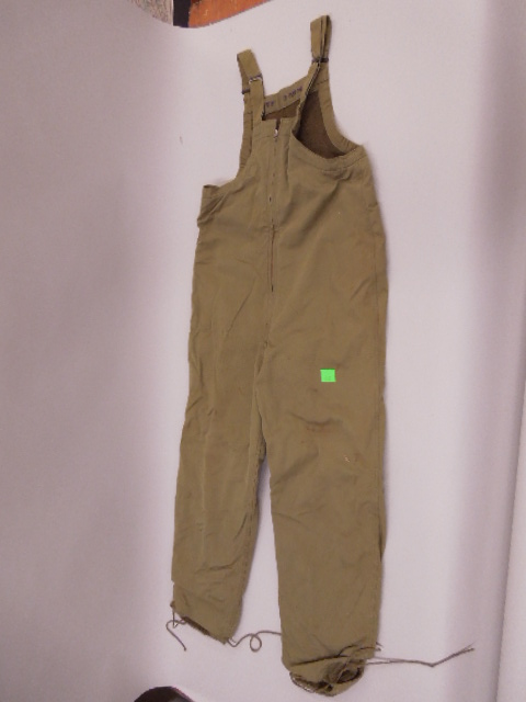 US Army Wool Lined Overalls