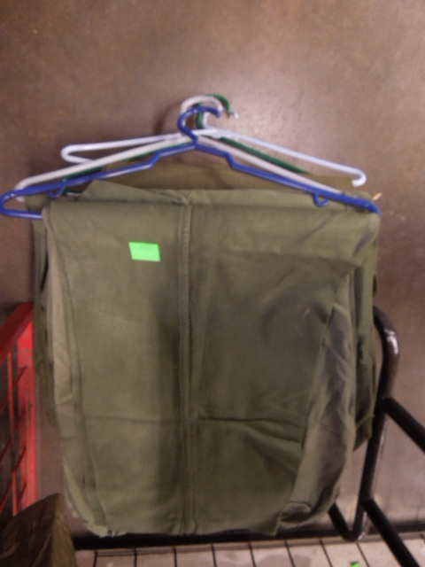 Box of Assorted US Army Clothing Sizes