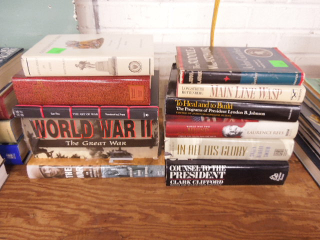 4 Vols. Books on War & Other