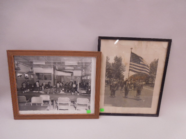 2 Framed Military Photos