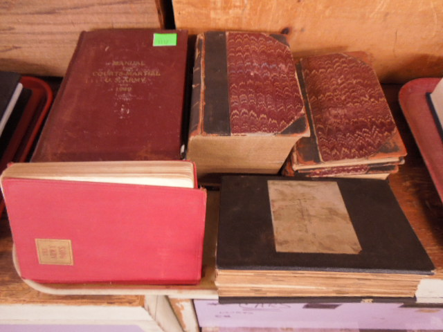 7 Volumes Military Books