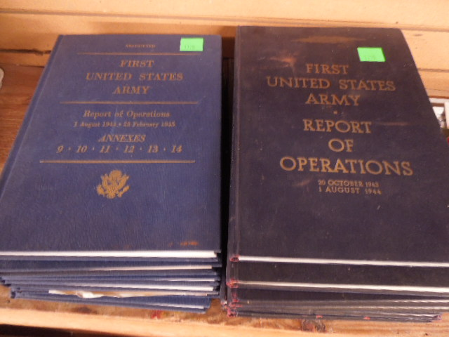 13 Volumes Report of Operations