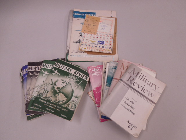 Lot of Military & Other Booklets