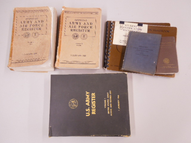 Lot of Assorted Military Books & Booklets