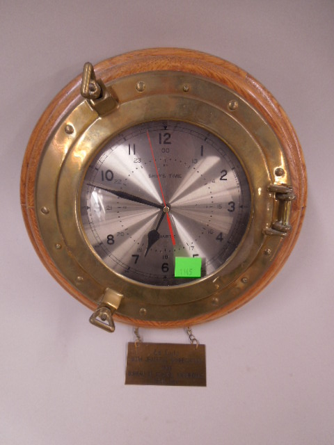Ships time Wall Clock
