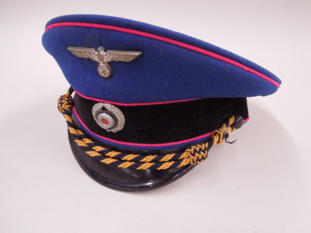 WW II German Nazi Fire Police Cap
