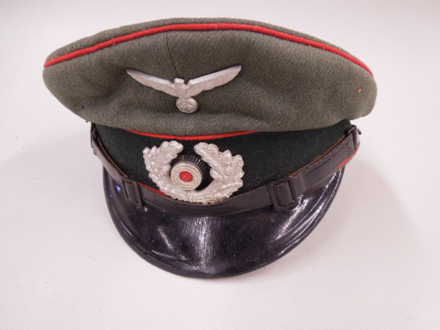 WW II German Nazi Field Officer Cap