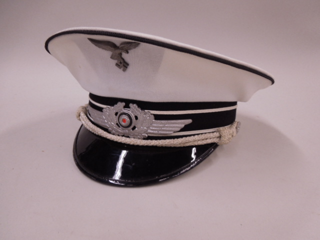 Reproduction WWII German Luftwaffe Cloth Visor Cap