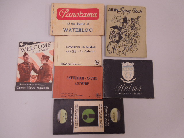 Assorted Army Pamphlets