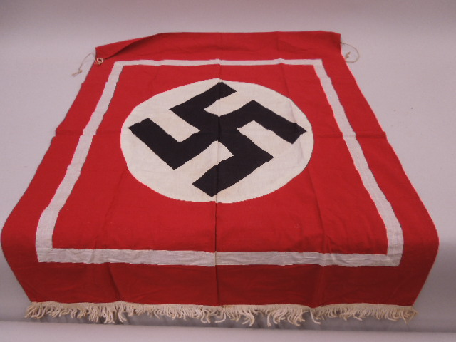 WW II German Nazi Podium Banner