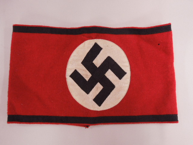 WW II German Nazi SS Officer Armband